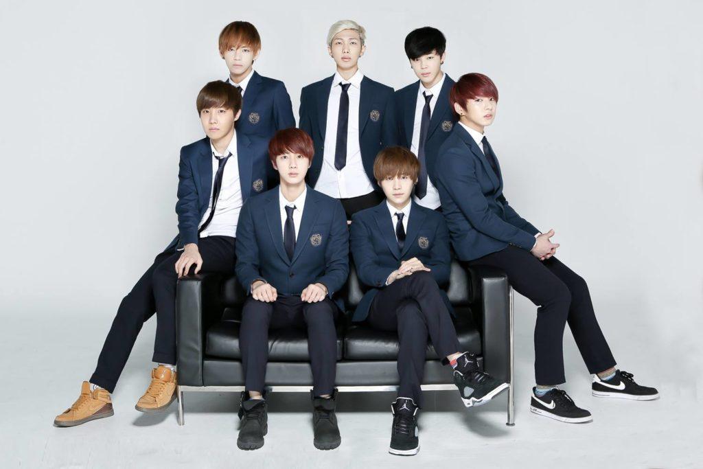 BTS Family Portrait 2014
