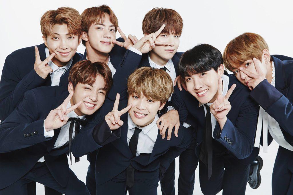 BTS Family Portrait 2017