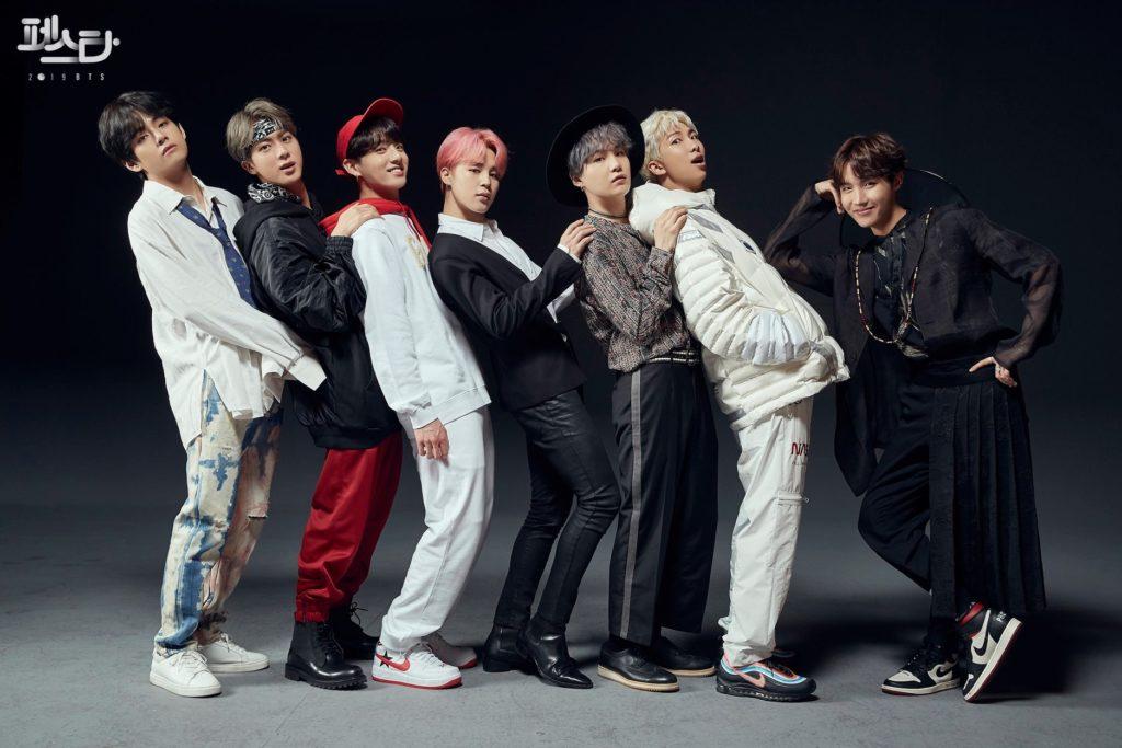BTS Family Portrait 2019