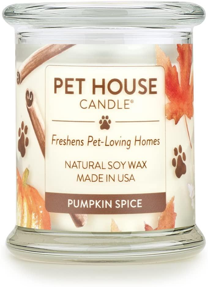 pumpkin spiced candle