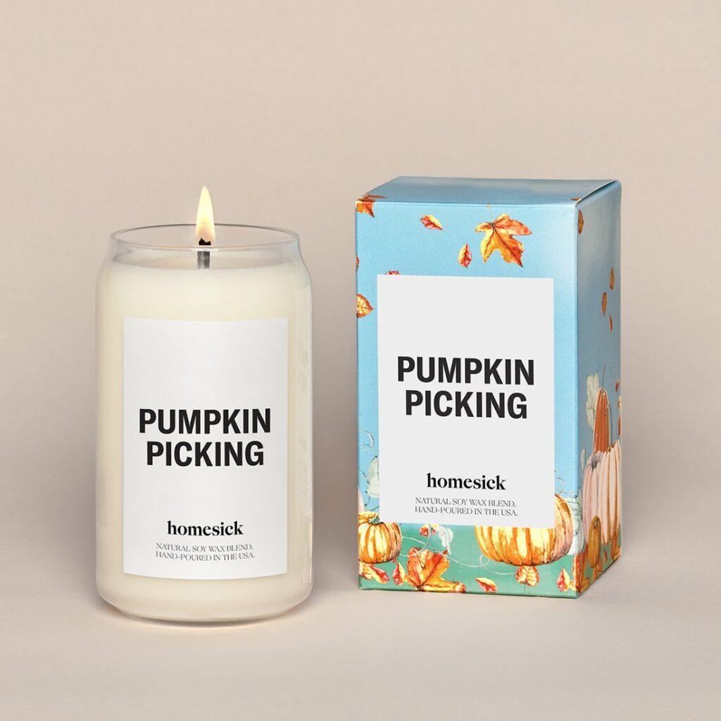 pumpkin spiced candle 2