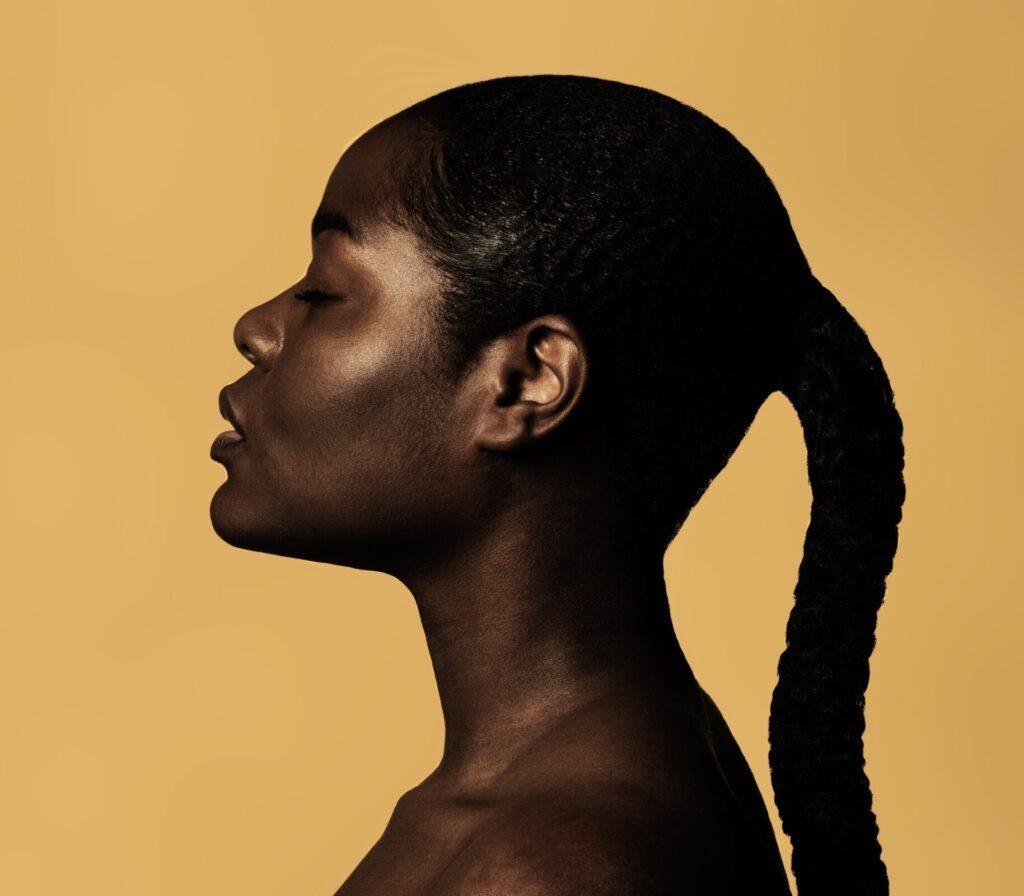 Black Woman Living