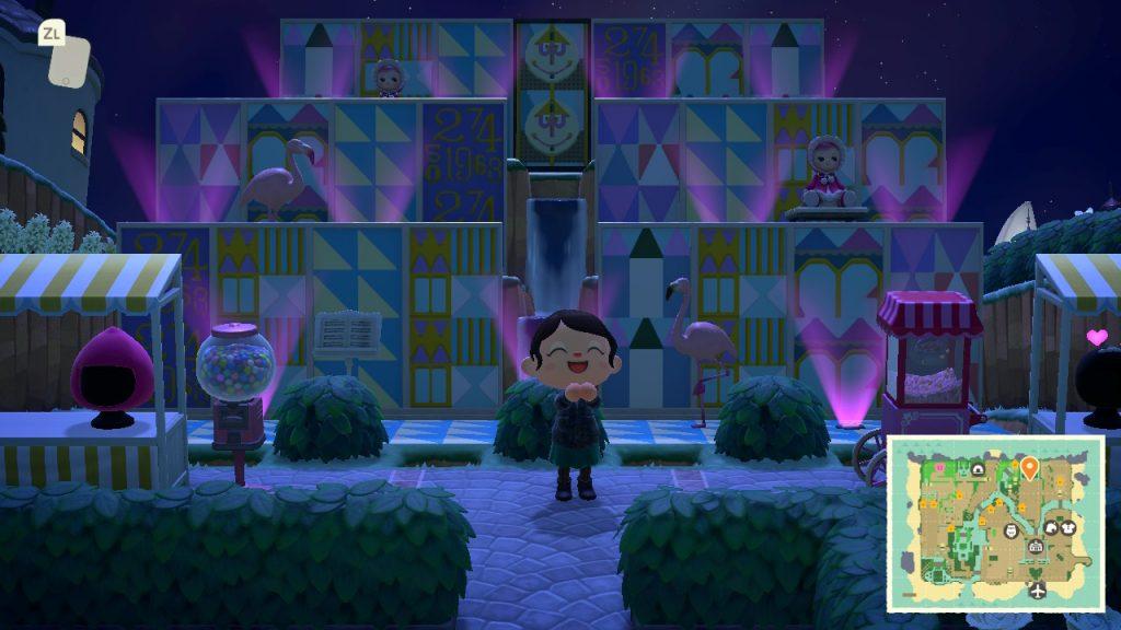 Animal Crossing Dream Village - Small World