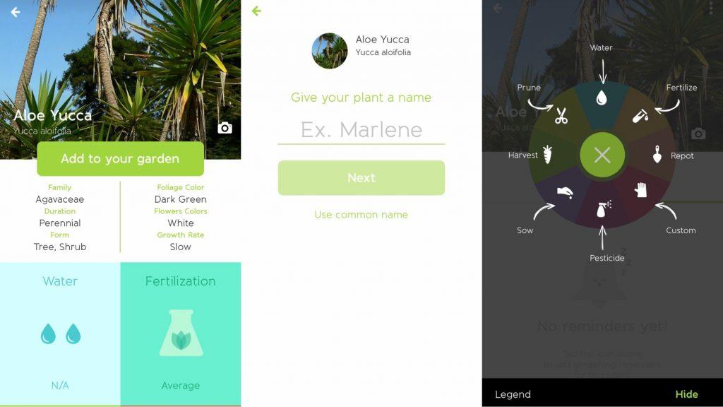 plant apps - Gardenia