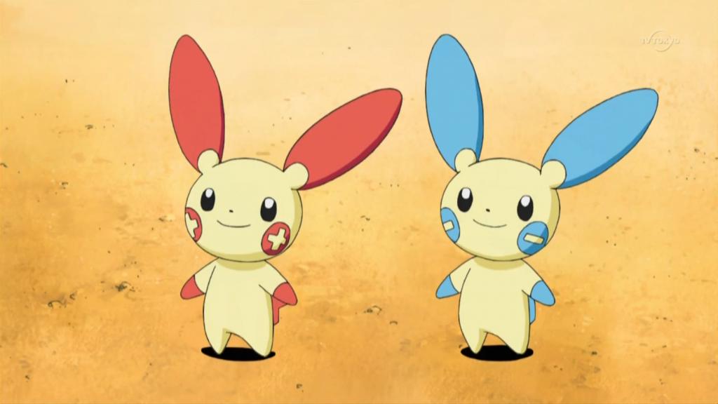 Pokemon of 2020 - Plusle & Minun