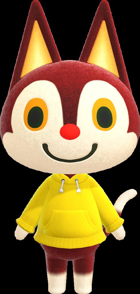 Animal Crossing dreamie list - Rudy